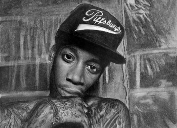 Wiz Khalifa por Nat-Morley